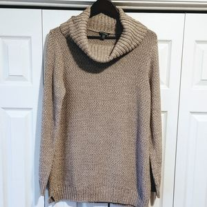 Hilary Radley cowl neck cotton oatmeal colour XL